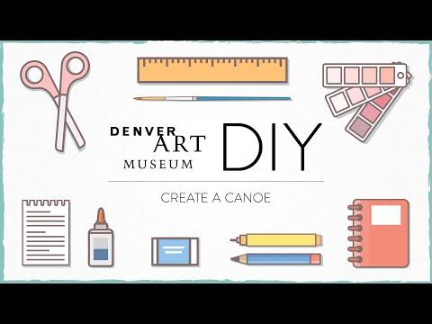 Still image from DAM DIY: Create A Canoe