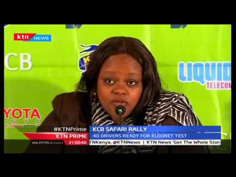 KTN Prime: Over 40 drivers are expected to square it out in Eldoret for Safari Rally, 28/09/2016
