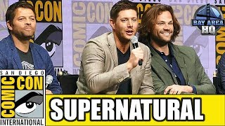 SUPERNATURAL Comic Con 2017 Full Panel Highlights Season 13 Reaction Interview