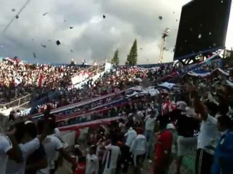 Sale León !!! Olimpia vs Atl. Choloma, Semifinal torneo apertura 2012 - La Ultra Fiel - Club Deportivo Olimpia
