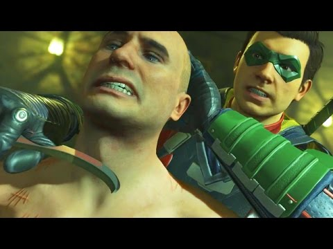 "DAMIAN WAYNE BETRAYS BATMAN! - Injustice 2 Story Mode ""Batman"" (Chapter 1)"