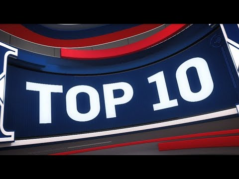 Top 10 Plays of the Night: January 17, 2018 (видео)