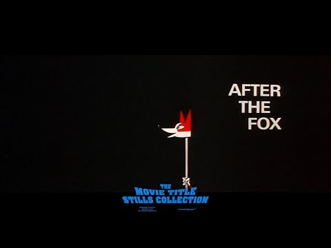 After The Fox (1966) Title Sequence