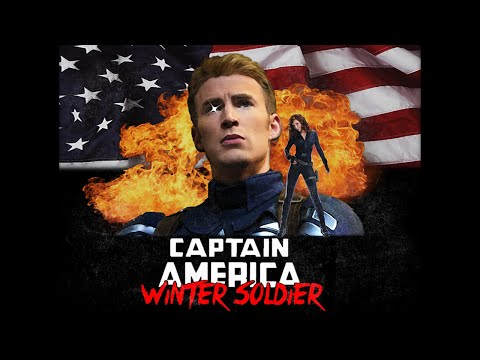 VHS Captain America Winter Soldier Trailer in 80s