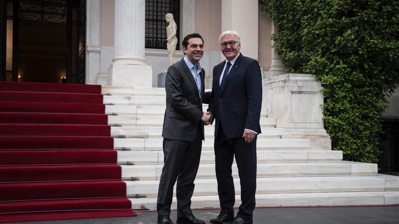 Συνάντηση με τον Πρόεδρο της Γερμανίας κ. Φρανκ-Βάλτερ Στάινμαϊερ