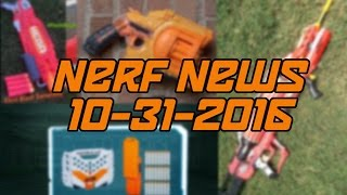 NERF NEWS! MEGA Double Breach / Doomlands Negotiator / New Modulus Kit