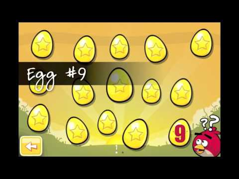comment trouver oeufs angry birds