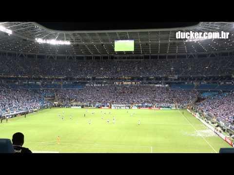 GRÊMIO 3 x 0 Atlético Nacional (COL) - Libertadores 2014 - Quem não canta é amargo / Somos Gre - Geral do Grêmio - Grêmio