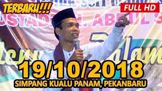 Video Ceramah Terbaru Ustadz Abdul Somad Lc, MA - Simpang Kualu, Panam,  Pekanbaru MP3, 3GP, MP4, WEBM, AVI, FLV Desember 2018