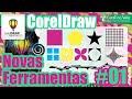 CorelDraw X6 - Novos Recursos #01 - Manchar - Espiralado - Atrair e Repelir
