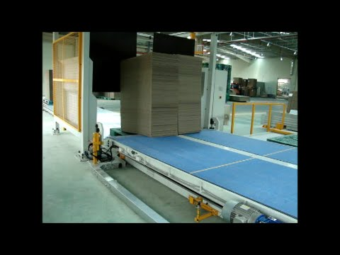 Watch the WSA Merge Style Pallet Inserter in Action!