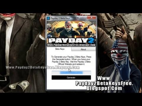 How to get PayDay2 Free Steam beta key/full game - WORKING [August 2013]