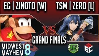 Midwest Mayhem 8 Grand Finals EG Zinoto [W] vs TSM ZeRo [L] VOD