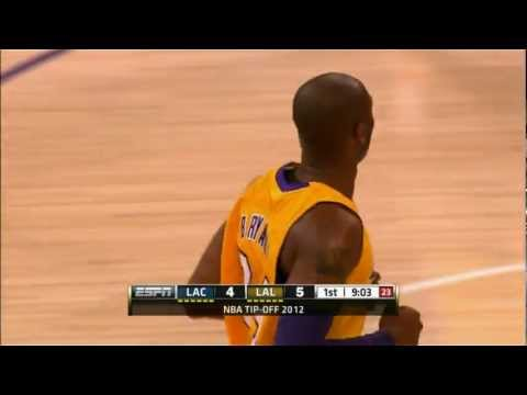 Kobe Passes Magic for Steals Record