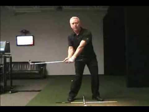 Online Golf Instruction – Left Shoulder is the Swing Center