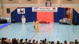 Christina Bischoff-Moos & Lukas Moos - Landesmeisterschaft Rheinland- Pfalz 2014