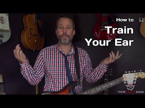 How To Train Your Ear – Guitar Chord Ear Training Secret