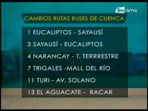 Transporte urbano de Cuenca cambiará recorridos por la emergencia sanitaria