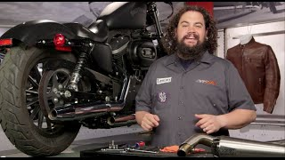 10. How To Install a Full System Exhaust for Harley at RevZilla.com