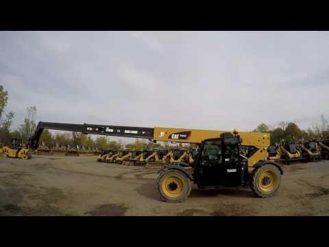 CATERPILLAR MANIPULADOR TELESCÓPICO TL943C equipment video JYDoES7Efk4