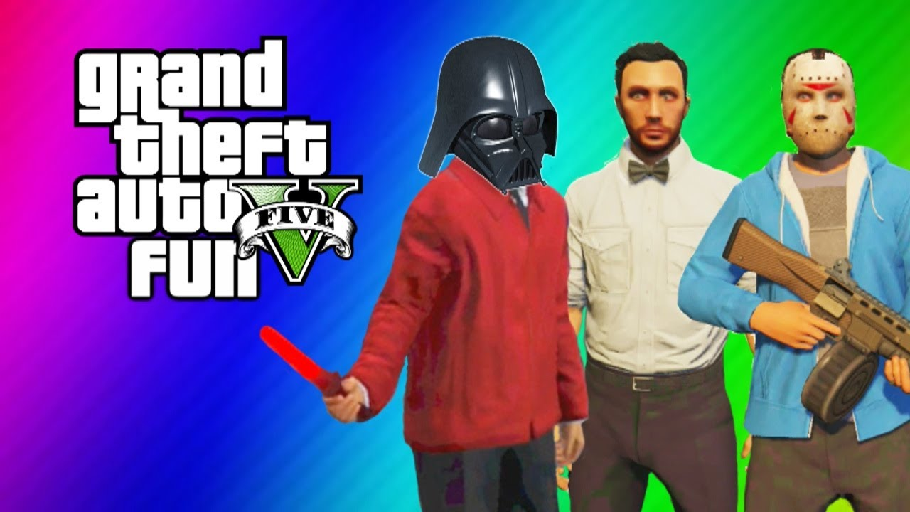 GTA 5 Online Funny Moments Gameplay – Lightsaber Dildo, Gate Glitch, Invincibility from Hookers!