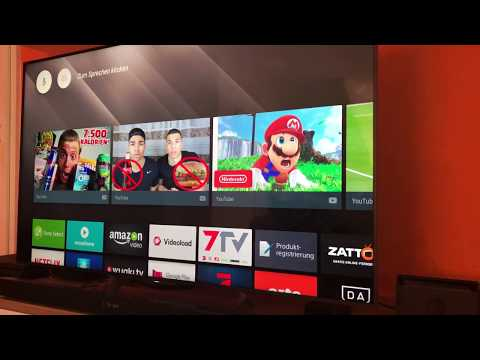 Android TV 7.0 (Nougat) Übersicht Sony XE9005