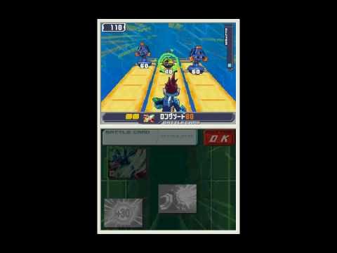 Ryuusei no Rockman 3: Black Ace Gameplay