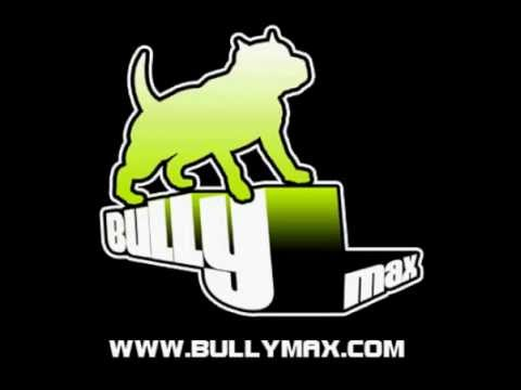 Dog Muscle Building Supplement Featuring Pit Bulls Bully Max Supplements