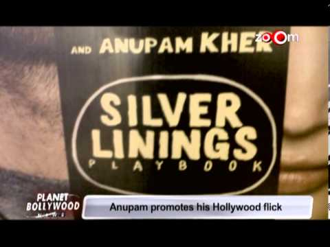 Anupam Kher promotes his Hollywood flick 'Silver Linings Playbook'
