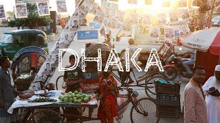 I'm in Dhaka in Bangladesh! It was the same price to fly here on the way back to Europe as it was to fly direct, so I decided to come here for a couple days ...