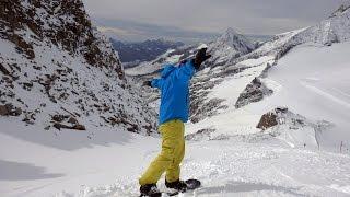 Hintertux Glacier Austria  city photos : Summer skiing on the Hintertux Glacier 2014