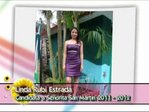 Sesion Fotografica Candidatas a Señorita San Martin 2011-2012