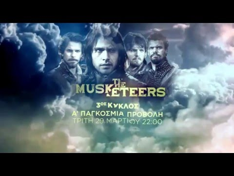 The Musketeers Season 3 (International Promo)