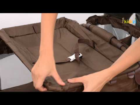Prezentare video BabyGo patut pliant Sleeper