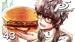 """In today's Let's Play of Persona 5 walkthrough and playthrough, I take on the ultimate burger challenge and all the potential health problems that come with it, and we face off against an invincible opponent in the metaverse.Become a Picky Penguin! ►► http://goo.gl/p7v6qGet your own Picky Penguin plushie! ►► https://goo.gl/aUH11PFacebook ►► https://www.facebook.com/NicoB7700Twitter ►► https://twitter.com/NicoB7700Thanks for the like/favorite and leaving a comment, guys. They really do help me out, and I'm always happy to hear from you all. :)GAME: Persona 5AUTHOR: AtlusTHUMBNAIL ARTIST: Kataro - https://www.patreon.com/k009 http://kata-009.deviantart.com/ http://k009comics.com/ http://k009.tumblr.com/ http://twitter.com/CoughDropsFAN ART OF THE DAY: Arrior - https://twitter.com/fenroxen http://arriorseptem.tumblr.com/Dar - https://twitter.com/Darrr216 Persona 5 takes place in Tokyo, and follows a silent protagonist after their transfer to the fictional Shujin Academy after being put on probation for an assault he was falsely accused of. During the course of a school year, he and other students awaken to their Persona powers, become masked vigilantes dubbed the """"Phantom Thieves of Hearts"""", and explore the supernatural Palace realm to steal ill intent from the hearts of adults. As with previous titles in the series, the party does battle with supernatural enemies using manifestations of their psyche called Personas. The game incorporates role-playing elements and dungeon exploration alongside social simulation scenarios."""
