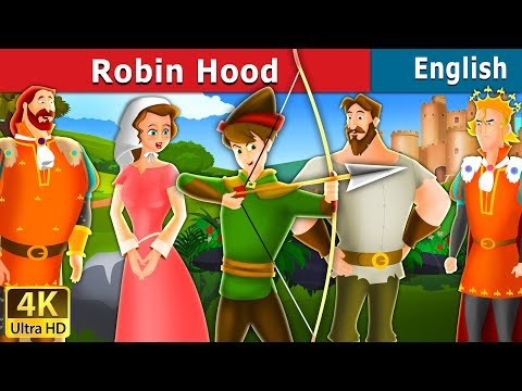 Robin Hood in English | Stories for Teenagers | English Fairy Tales