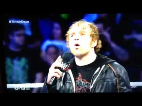 WWE Smackdown 3/17/2016: Dean Ambrose Attacks The Social Outcasts