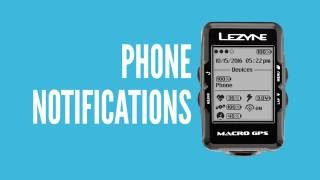 Lezyne Y10 GPS Phone Notifications Tutorial