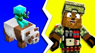 Minecraft - 4-Player OG Classic MCInfected Gamemode | JeromeASF