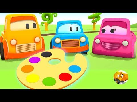 Frases inteligentes - Videos educativos infantil - Coches inteligentes aprenden los colores
