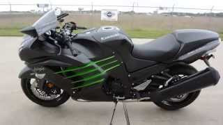4. SUPER SALE $10,599:  2015 Kawasaki ZX14R ABS Metallic Matte Carbon Gray Overview and Review