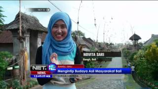 Video Suasana Kedamaian di Desa Panglipuran Bali - NET12 MP3, 3GP, MP4, WEBM, AVI, FLV Oktober 2018