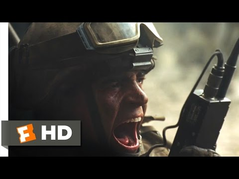 Battle: Los Angeles - I'm Not Leaving You! Scene (5/10) | Movieclips