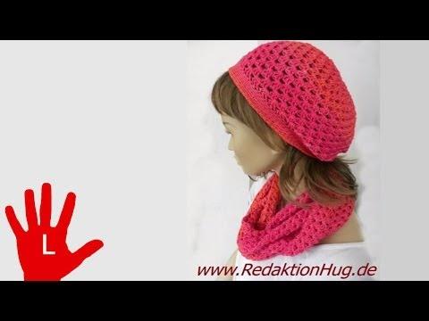 Häkeln – Linkshänder – Mütze – aus Ocean von Pro Lana