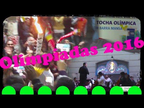 Passagem da Tocha Olímpica por Barra Mansa - Cerimônia com Orquestra Sinfônica da Cidade