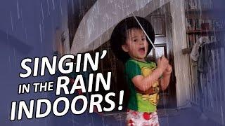 Singin' in the Rain, Indoors.