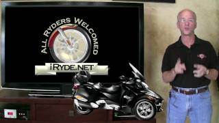 2. 2010 Can Am Spyder RT Series Lineup - iRyde.net