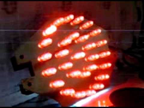 アドレスV125  自作 マイコン LEDテール 完成度70%程度