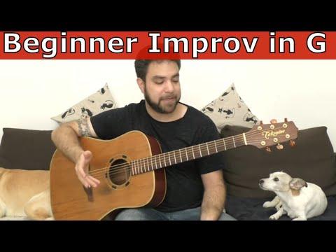 Fingerstyle Lesson: Beginner Improvisation in G – Guitar Tutorial w/ TAB