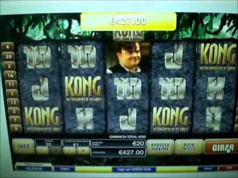 """KING KONG"" JACKPOT – JUEGOS.COM – JUEGOS DE CASINO GRATIS ONLINE"